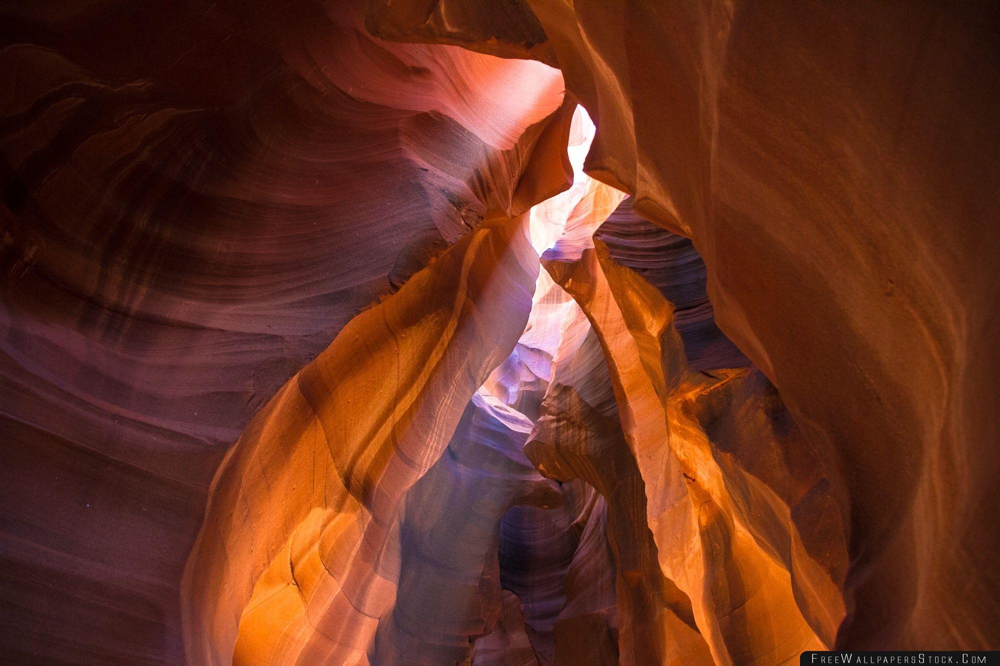 Download Free Wallpaper Ray   Light Antelope Canyon Arizona