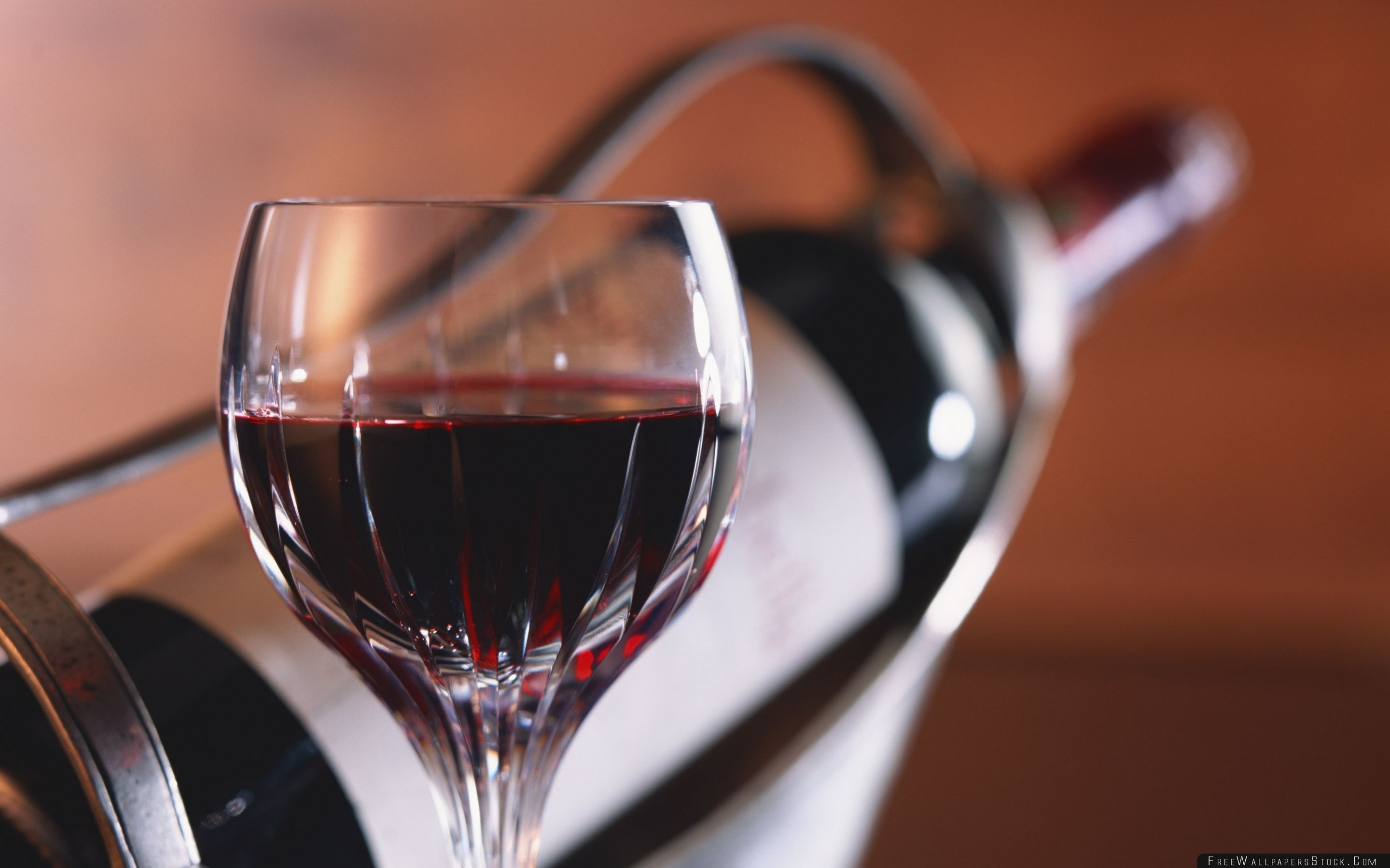 Download Free Wallpaper Red Wine Glass