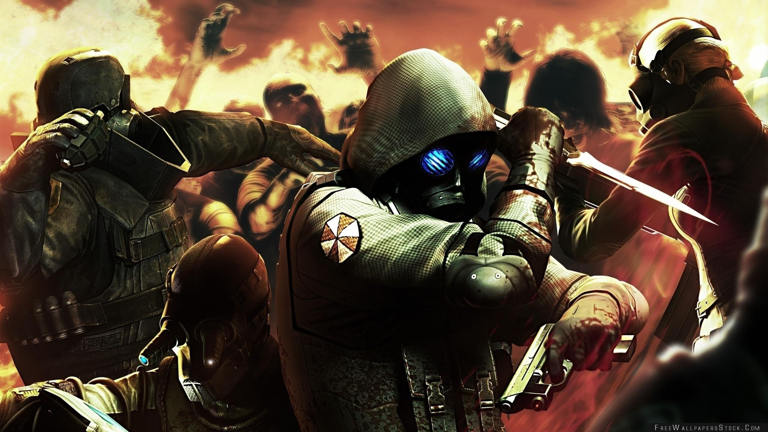 Download Free Wallpaper Resident Evil Operation Raccoon City