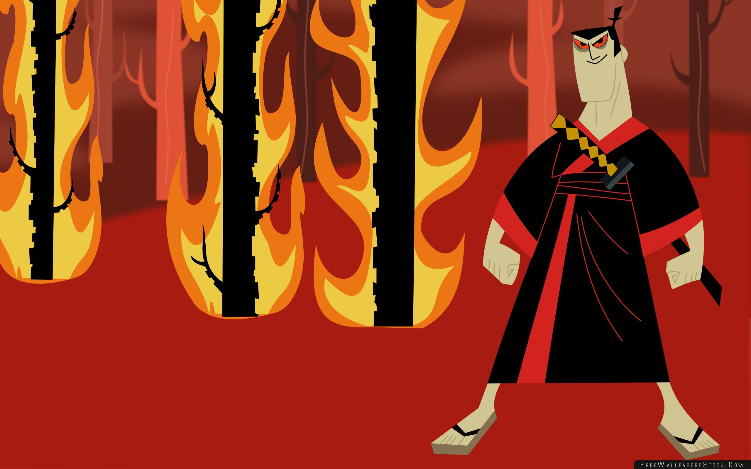 Download Free Wallpaper Samurai Jack Cartoon