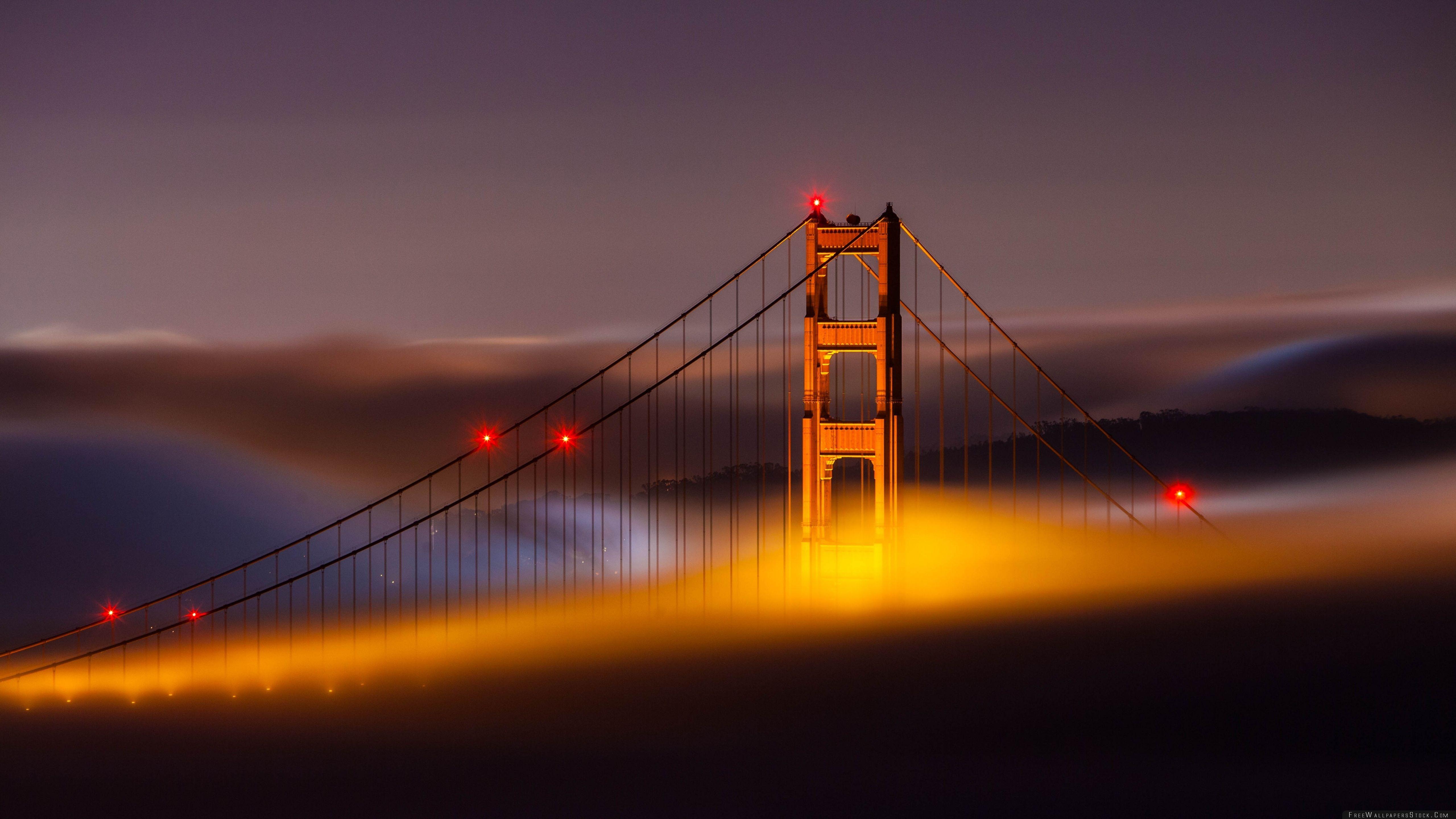 Download Free Wallpaper San Francisco Bridge Side