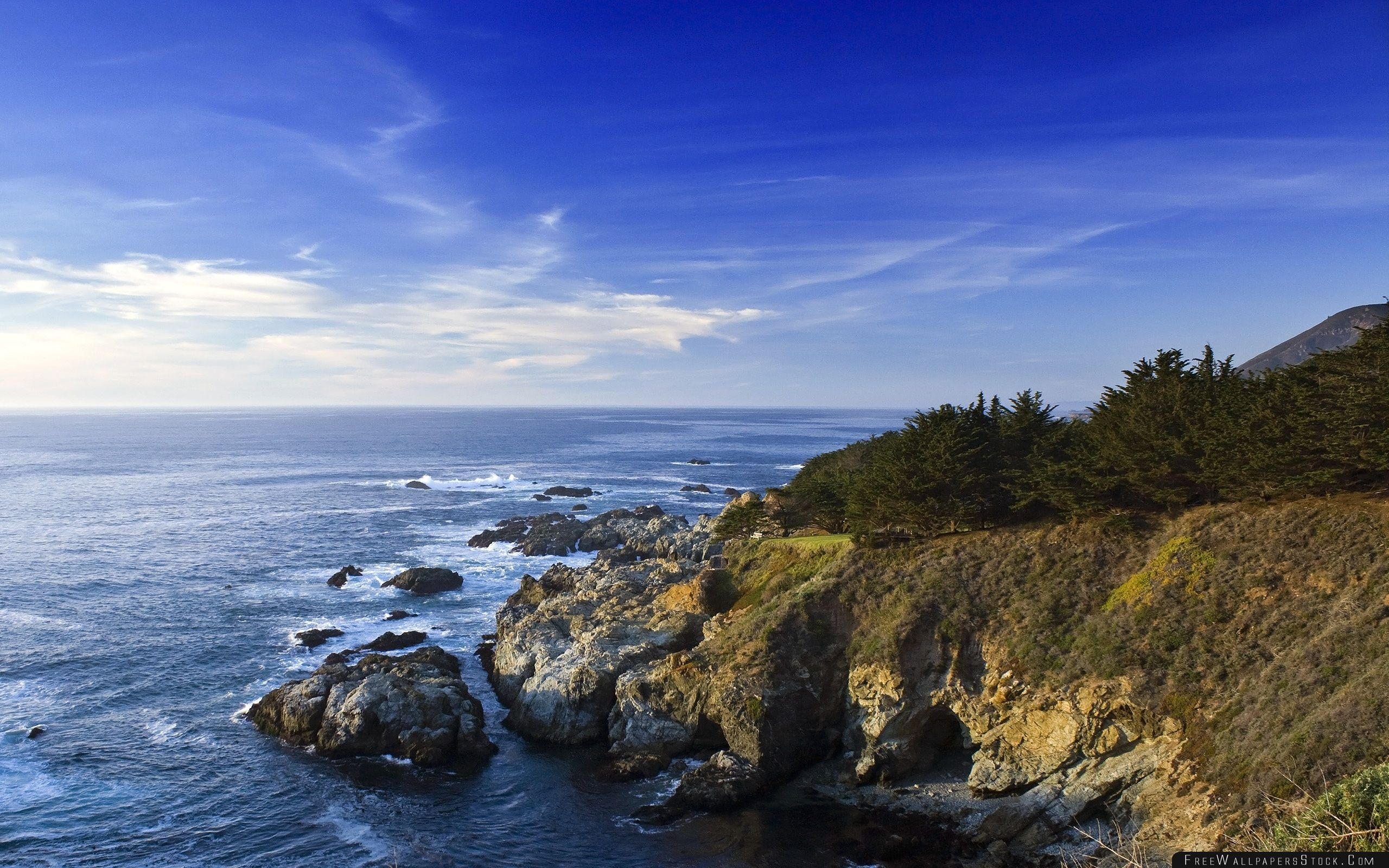 Download Free Wallpaper Sea Panoramic View