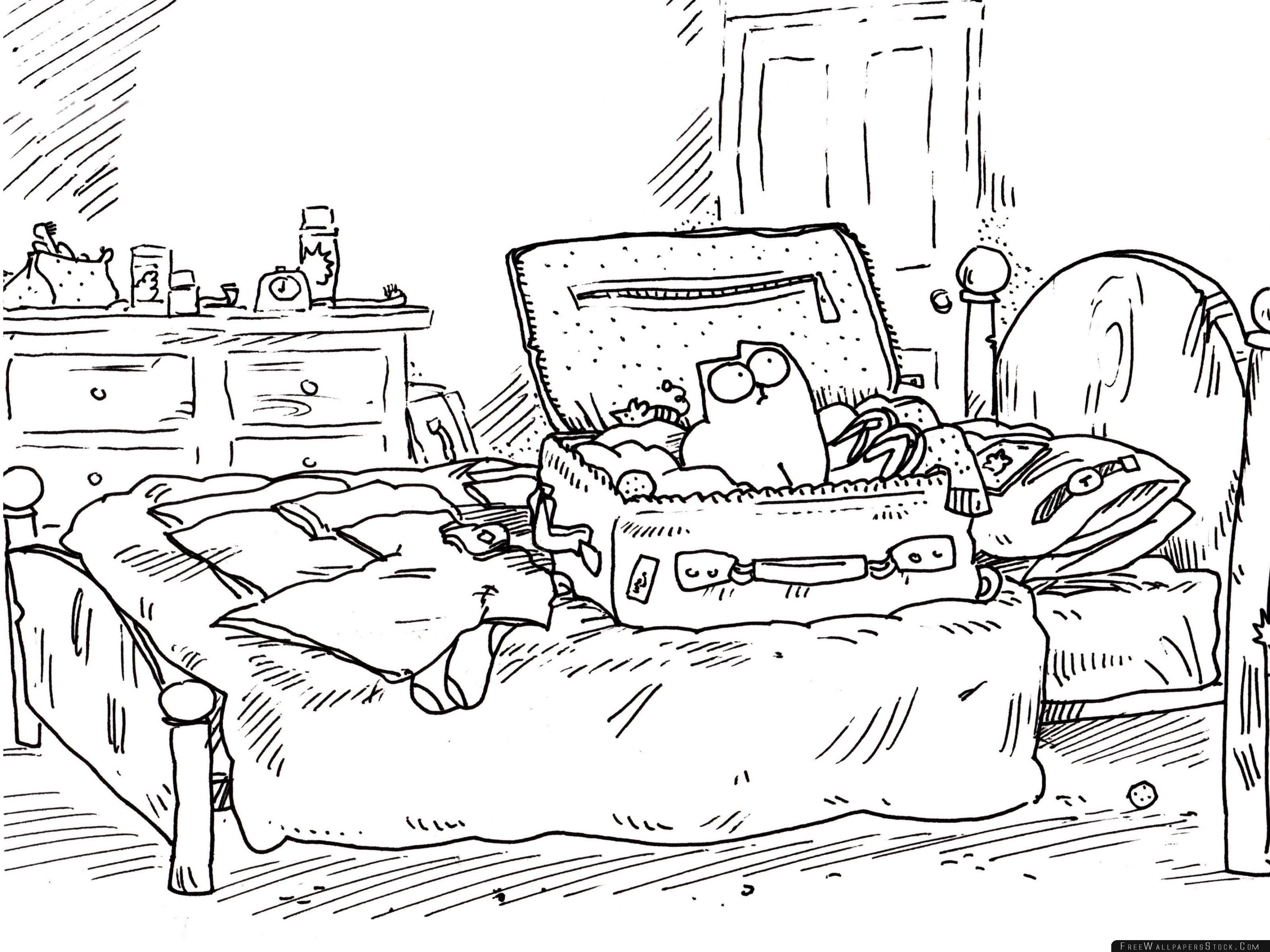 Download Free Wallpaper Simons Cat