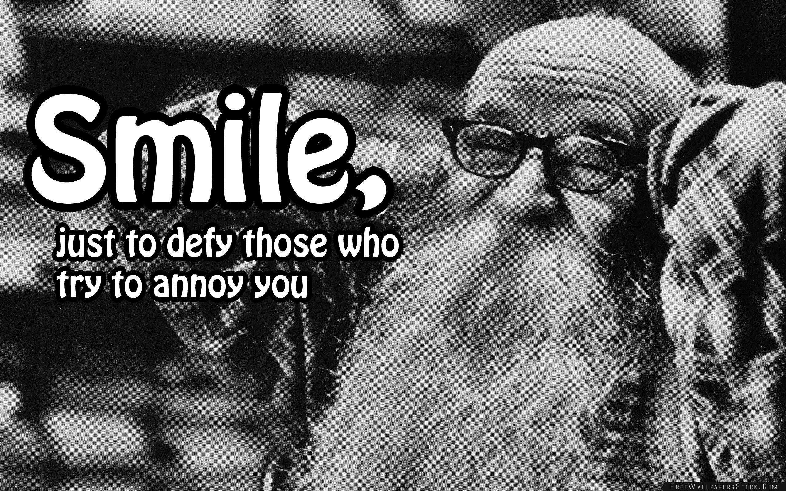 Download Free Wallpaper Smile