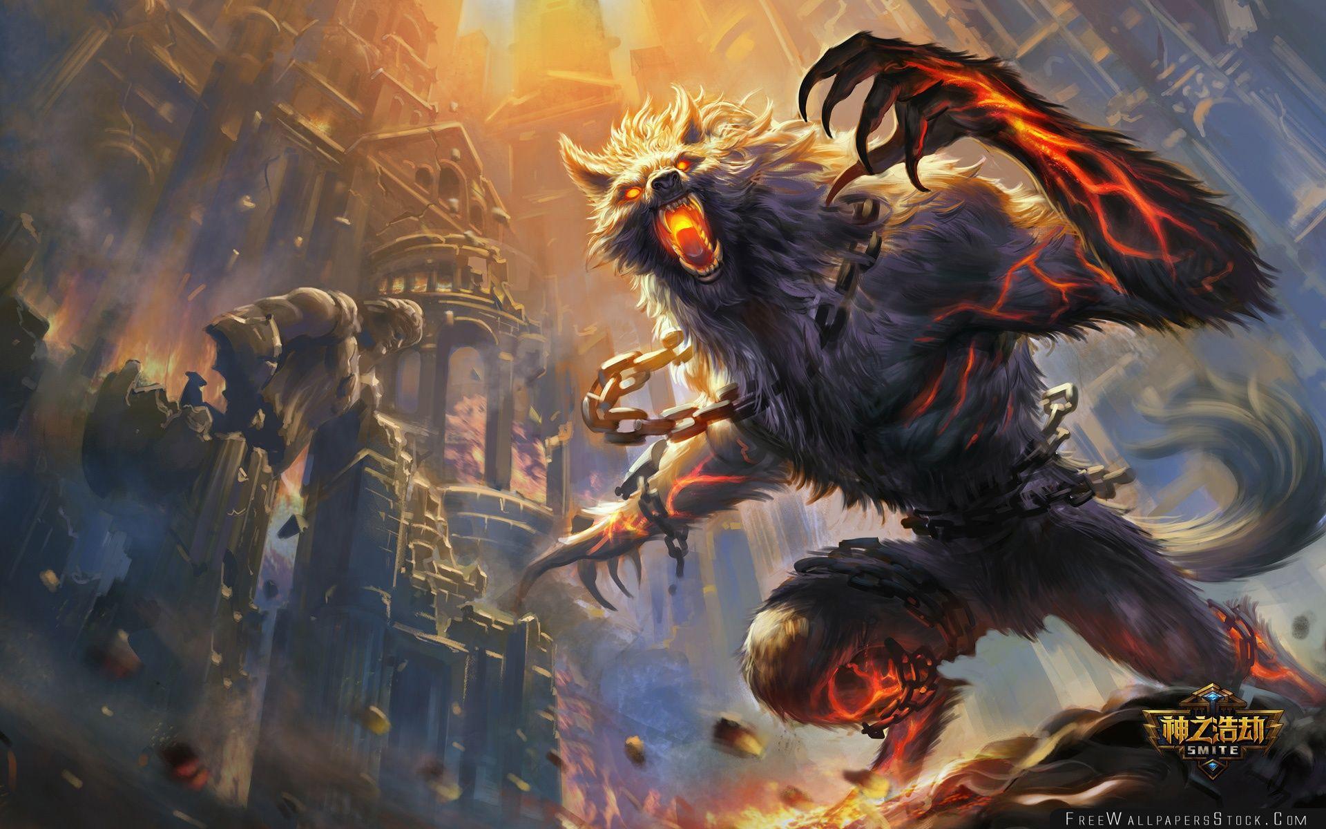 Download Free Wallpaper Smite Game Monster
