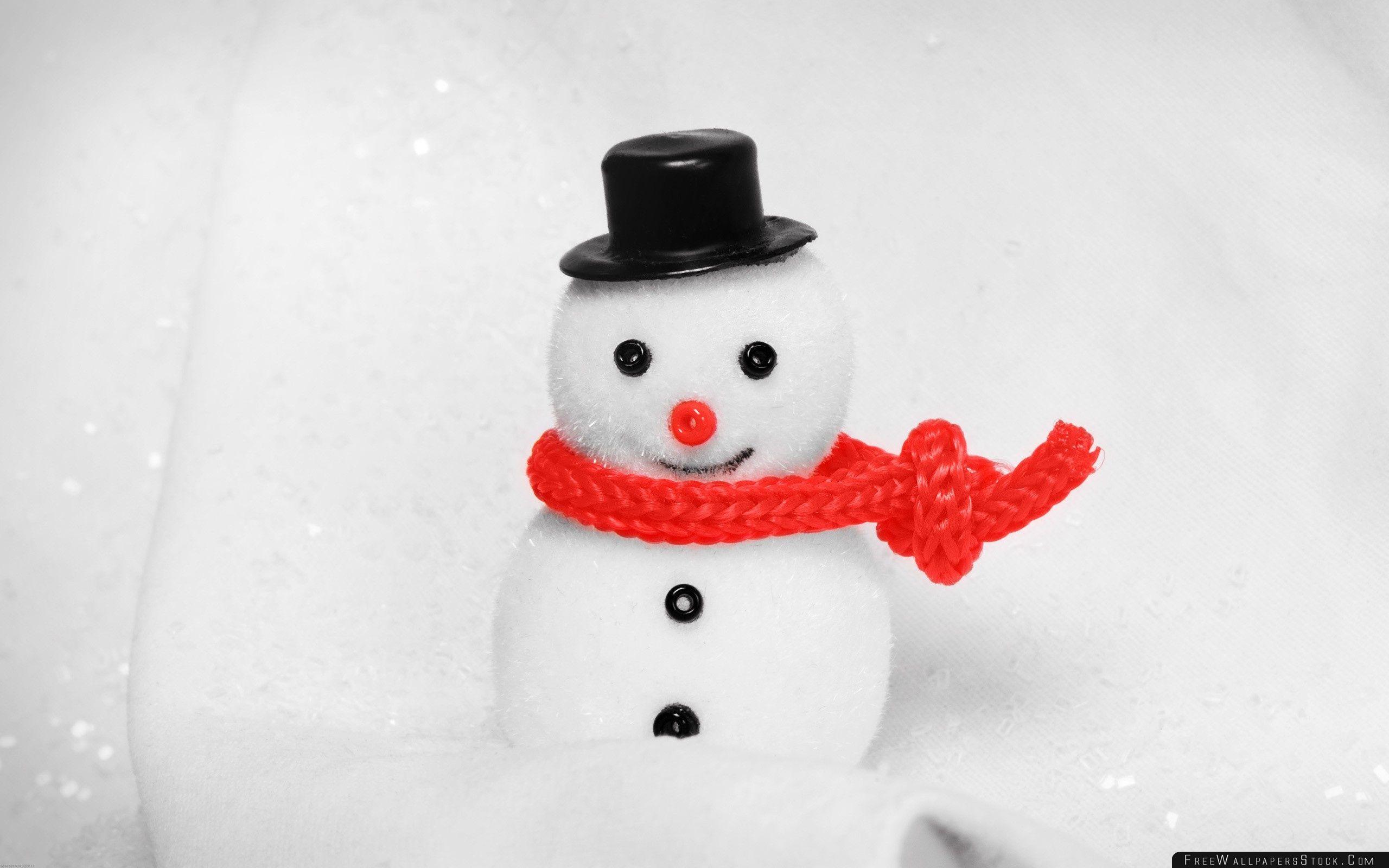 Download Free Wallpaper Snowman Decoration