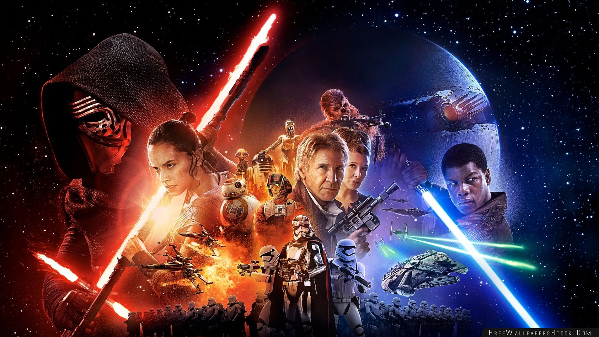 Download Free Wallpaper Star Wars The Force Awakens
