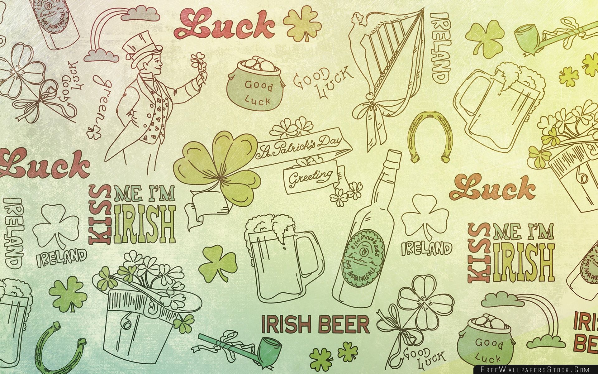 Download Free Wallpaper   Patricks Day Good Luck Background