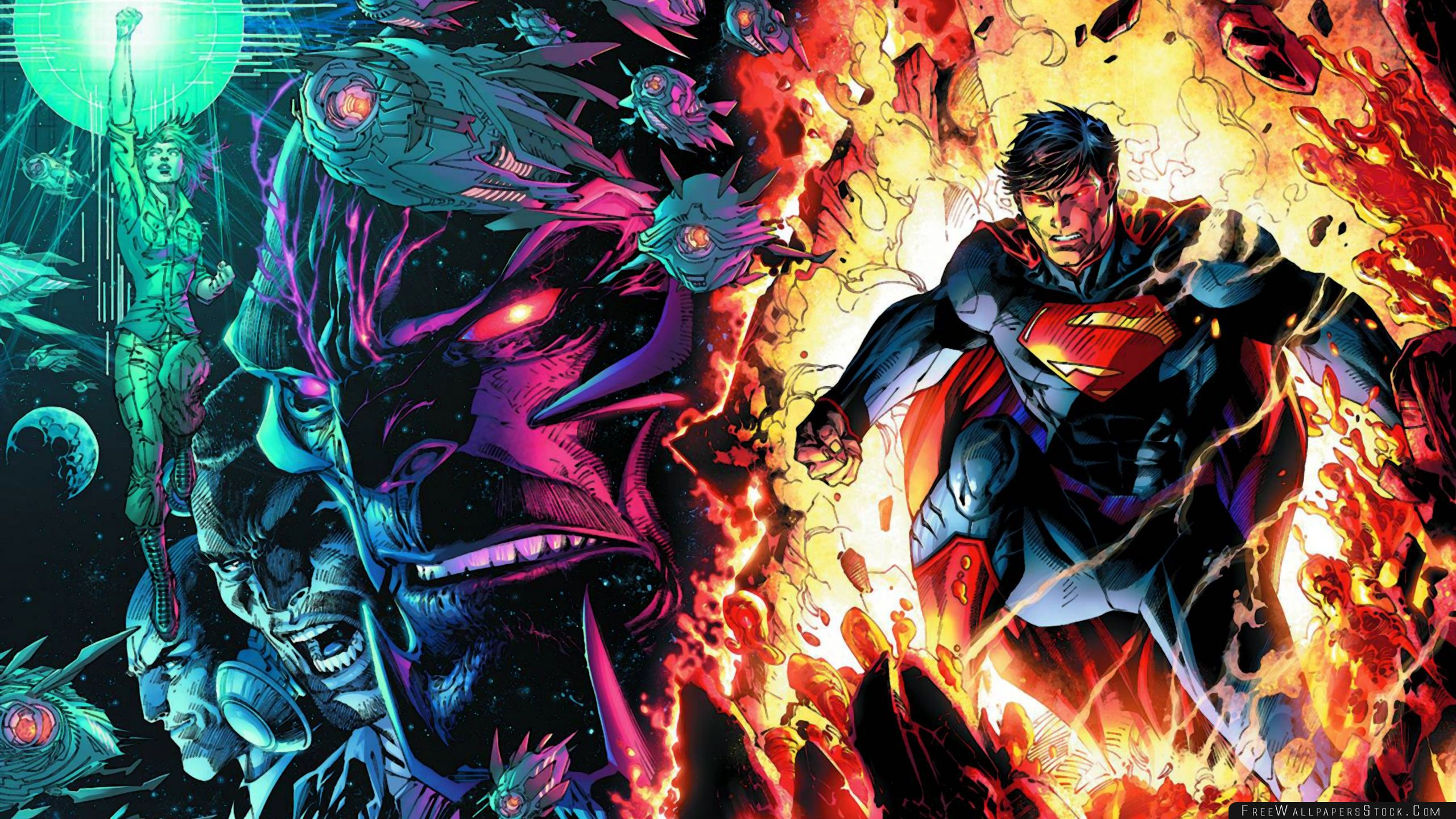 Download Free Wallpaper Superman Off The Chain