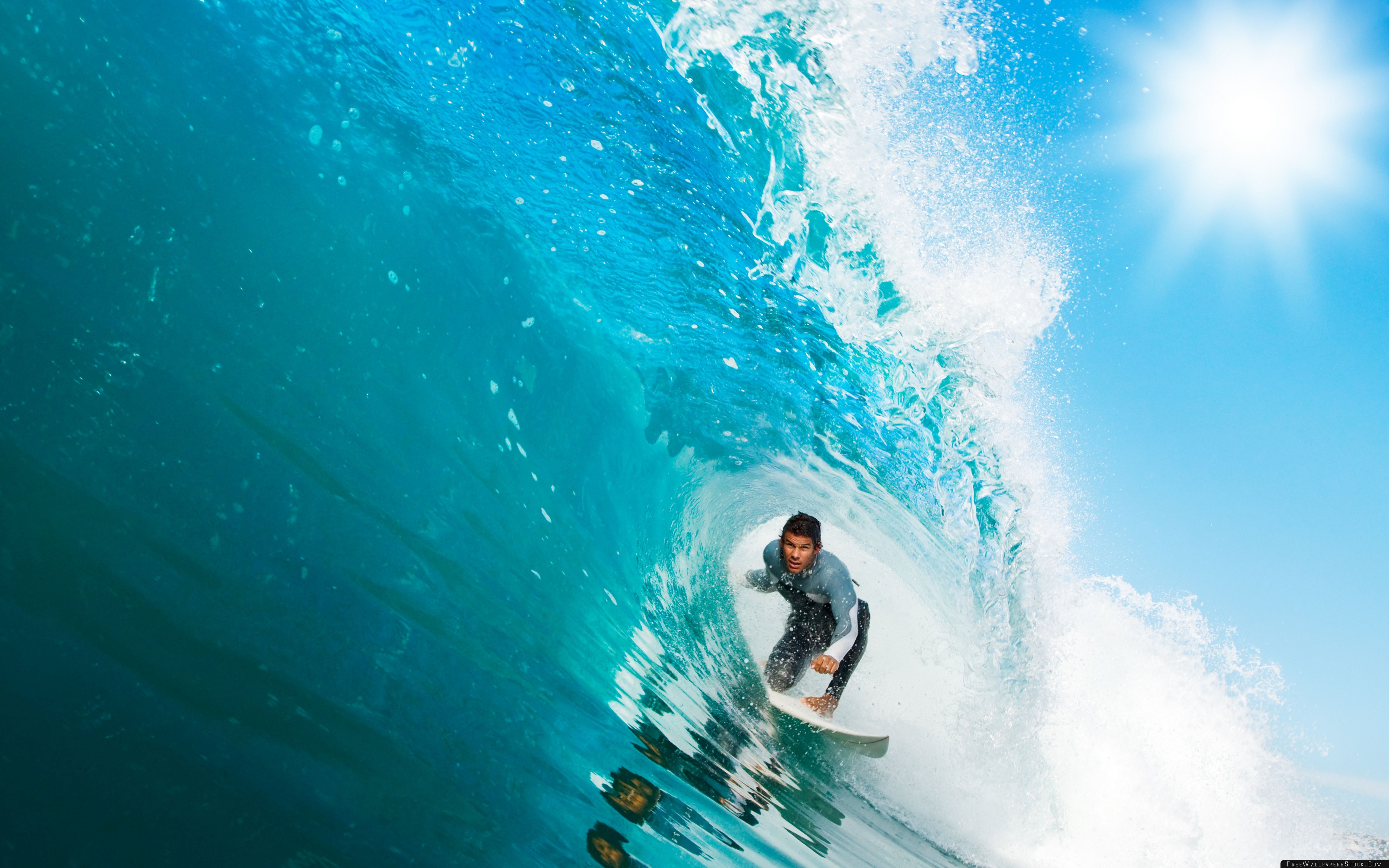 Download Free Wallpaper Surfing   Wave