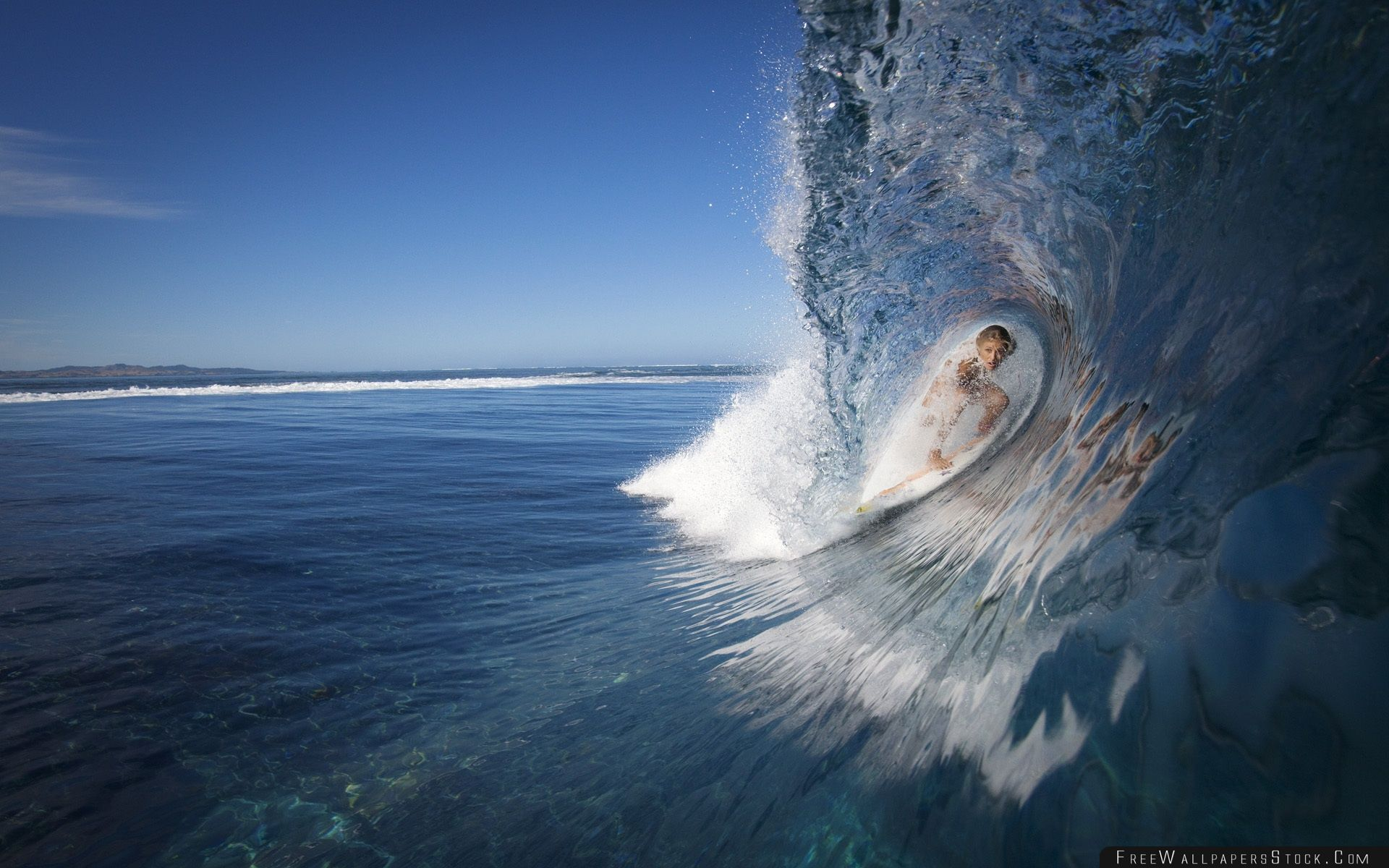 Download Free Wallpaper The Big Wave
