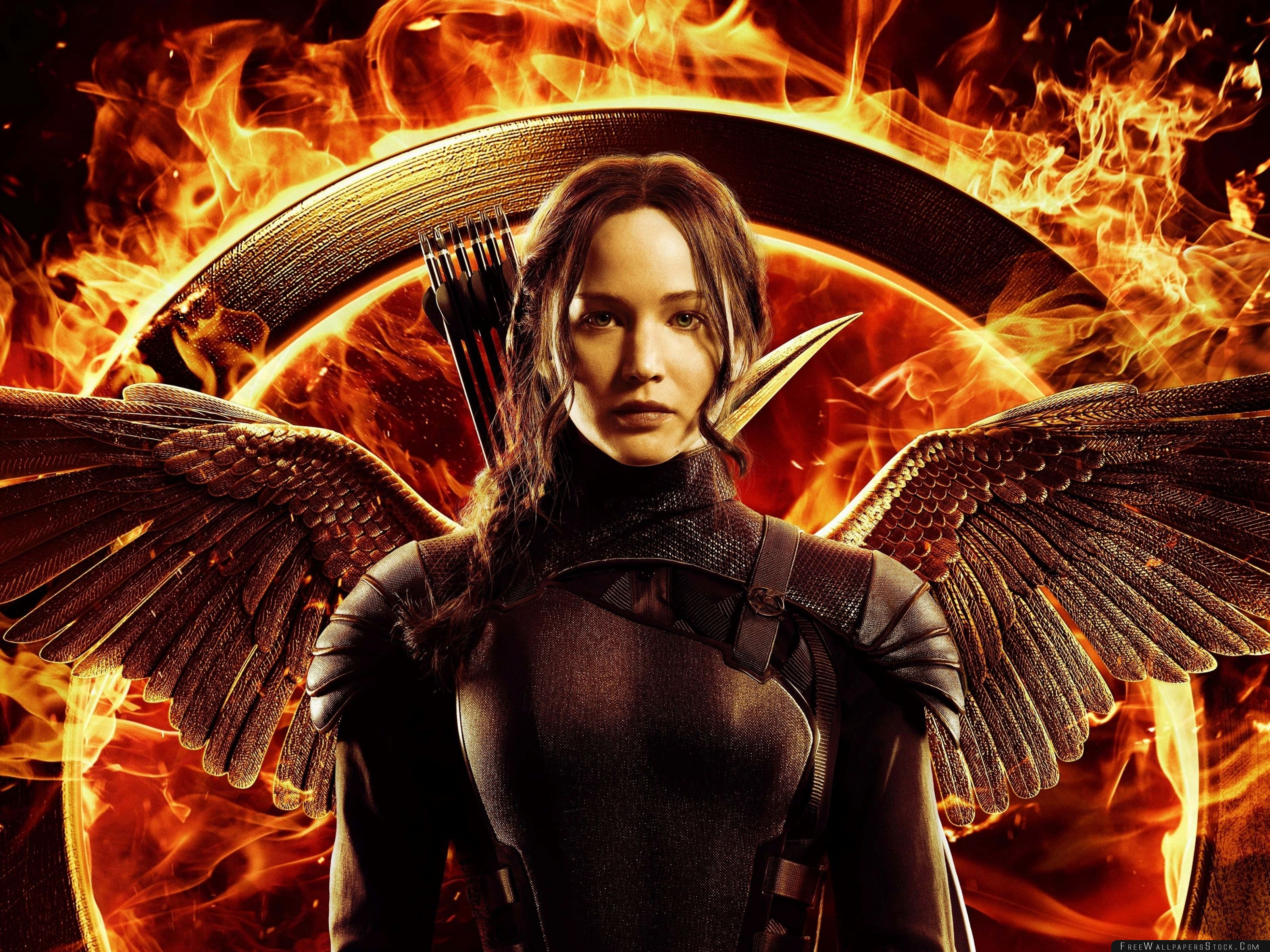 Download Free Wallpaper The Hunger Games Mockingjay Part Katniss
