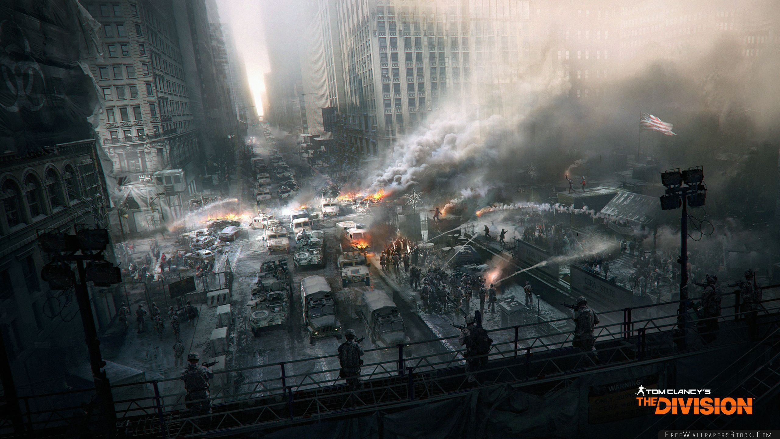 Download Free Wallpaper Tom Clancys The Division Dark Zone