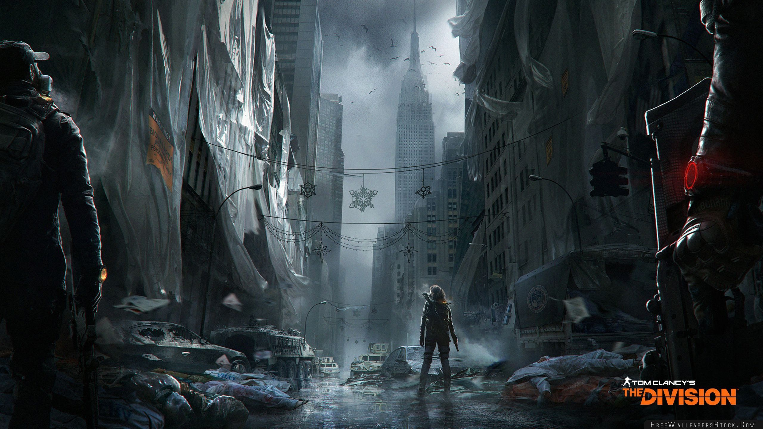 Download Free Wallpaper Tom Clancys The Division Dark Zone Gameplay