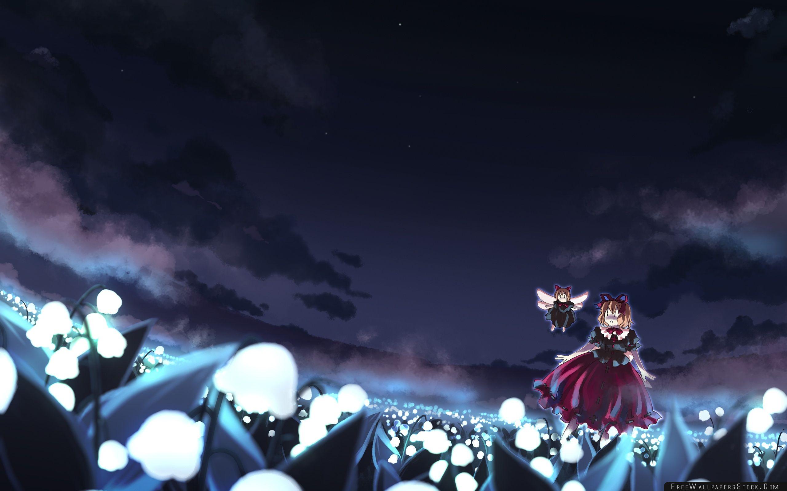 Download Free Wallpaper Touhou Anime