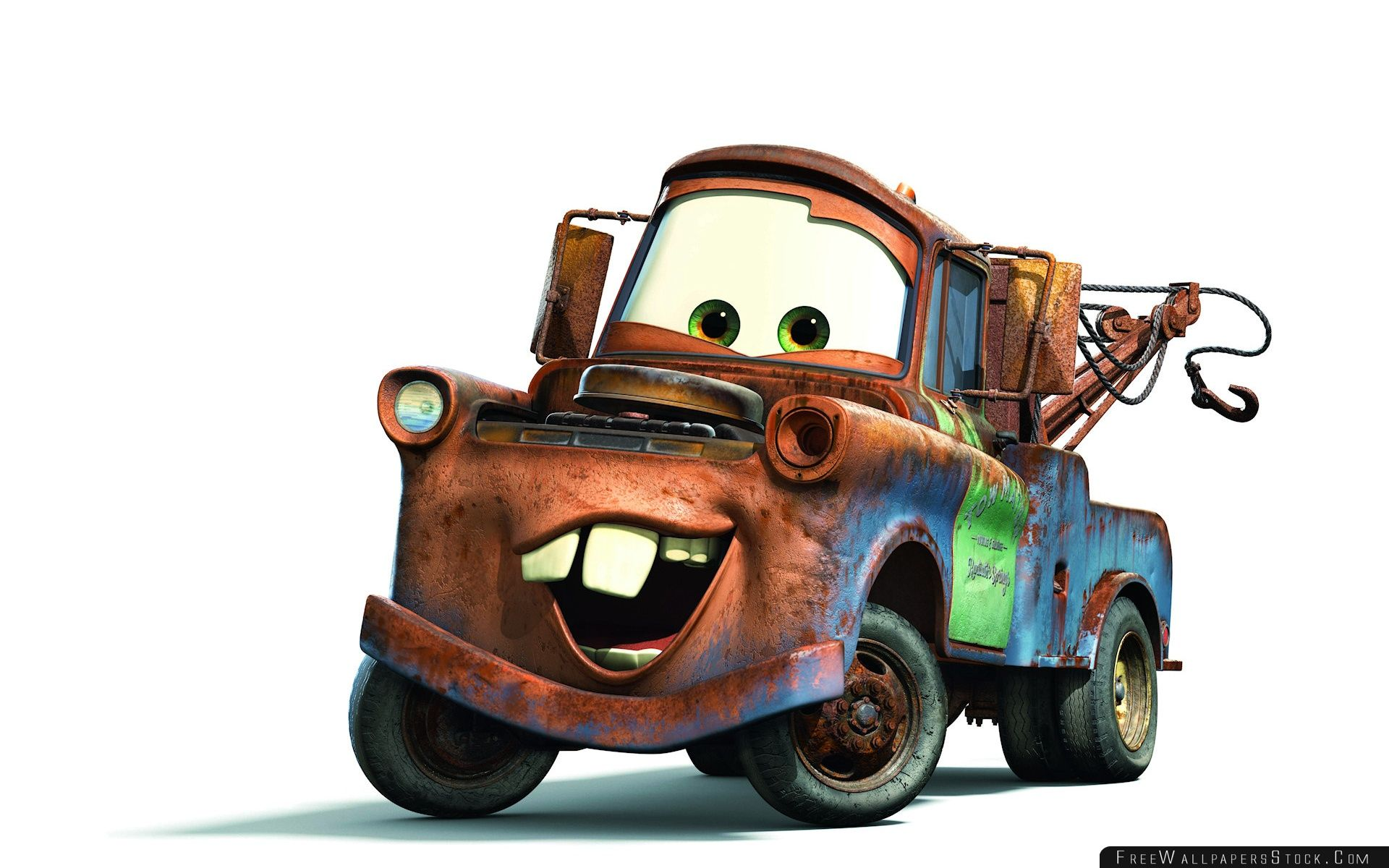 Download Free Wallpaper Tow Mater Cars Movie