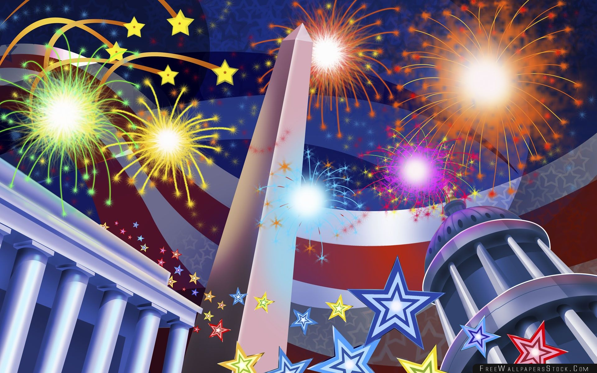 Download Free Wallpaper United States Independence Day