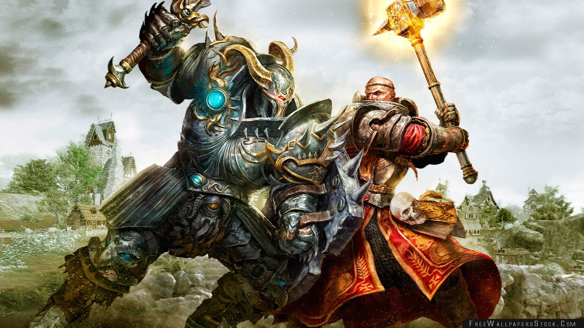 Download Free Wallpaper Warhammer Online Age   Reckoning