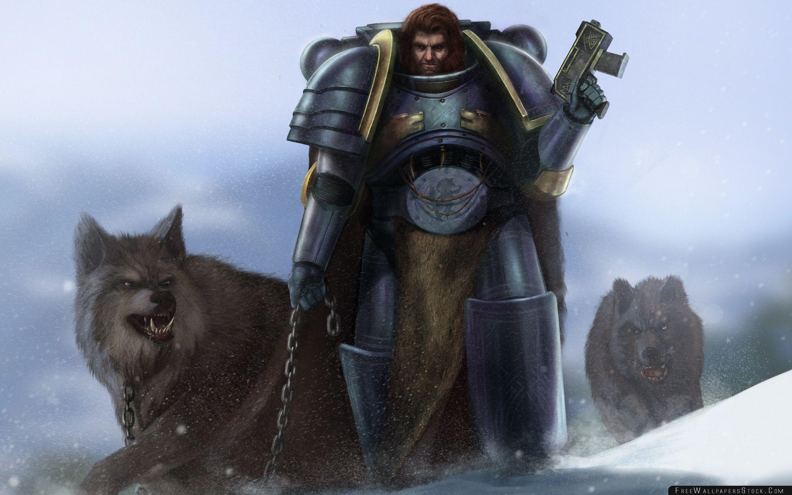Download Free Wallpaper Warhammer Warrior