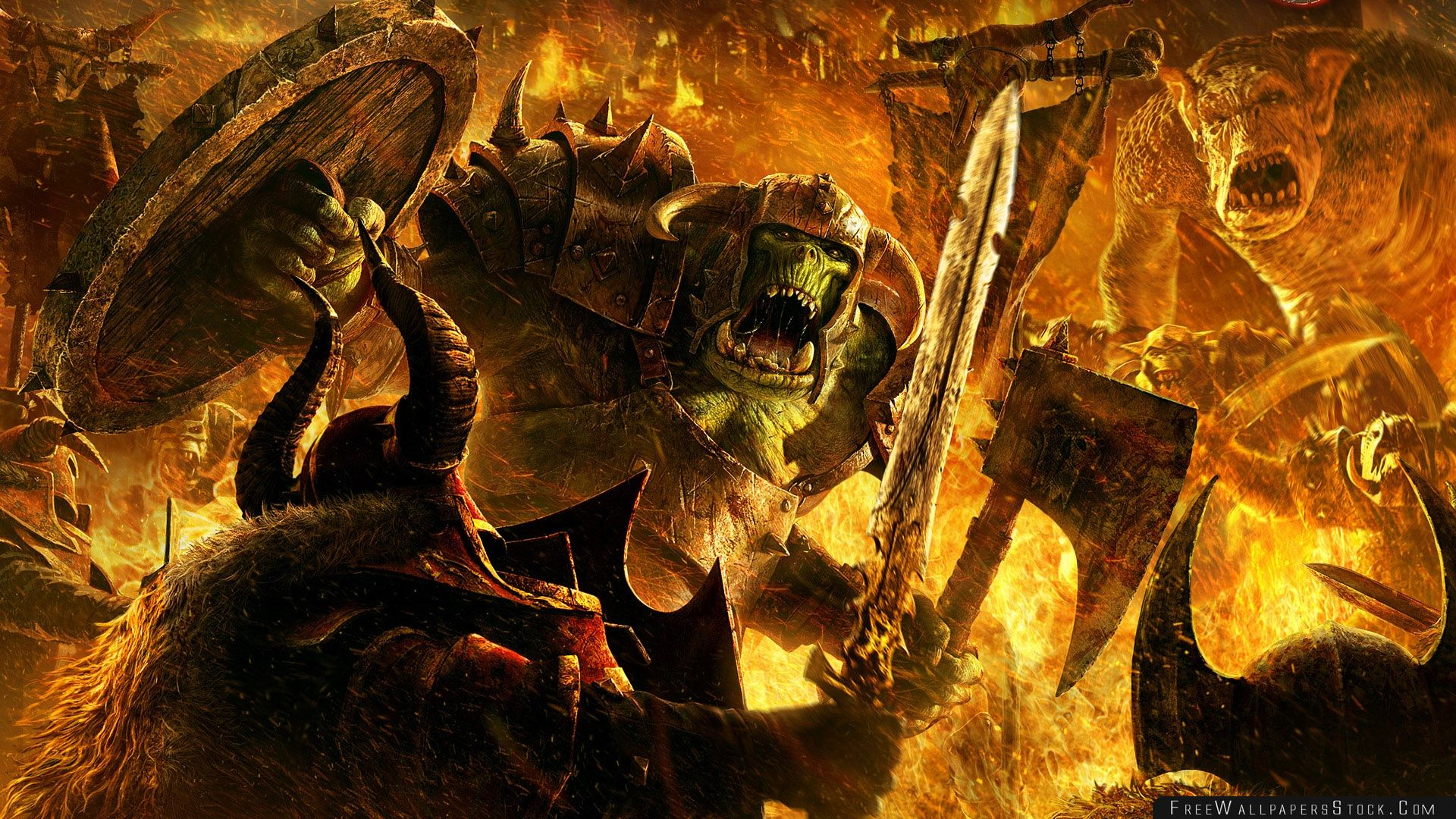 Download Free Wallpaper Warhammer Mark   Chaos
