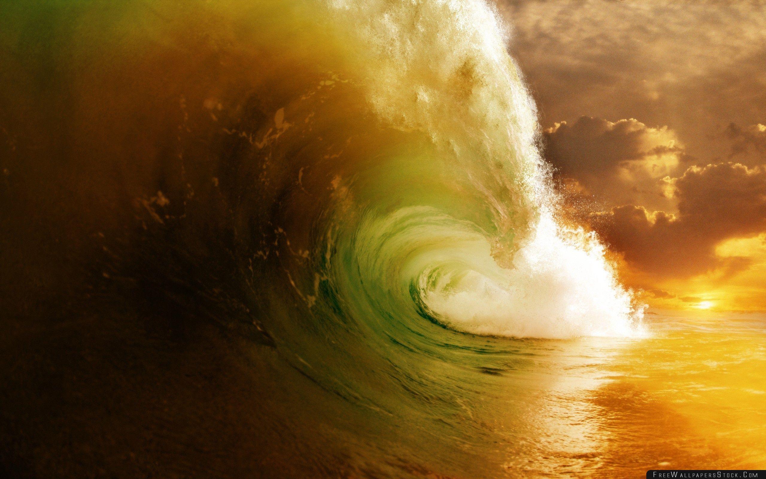 Download Free Wallpaper Wave