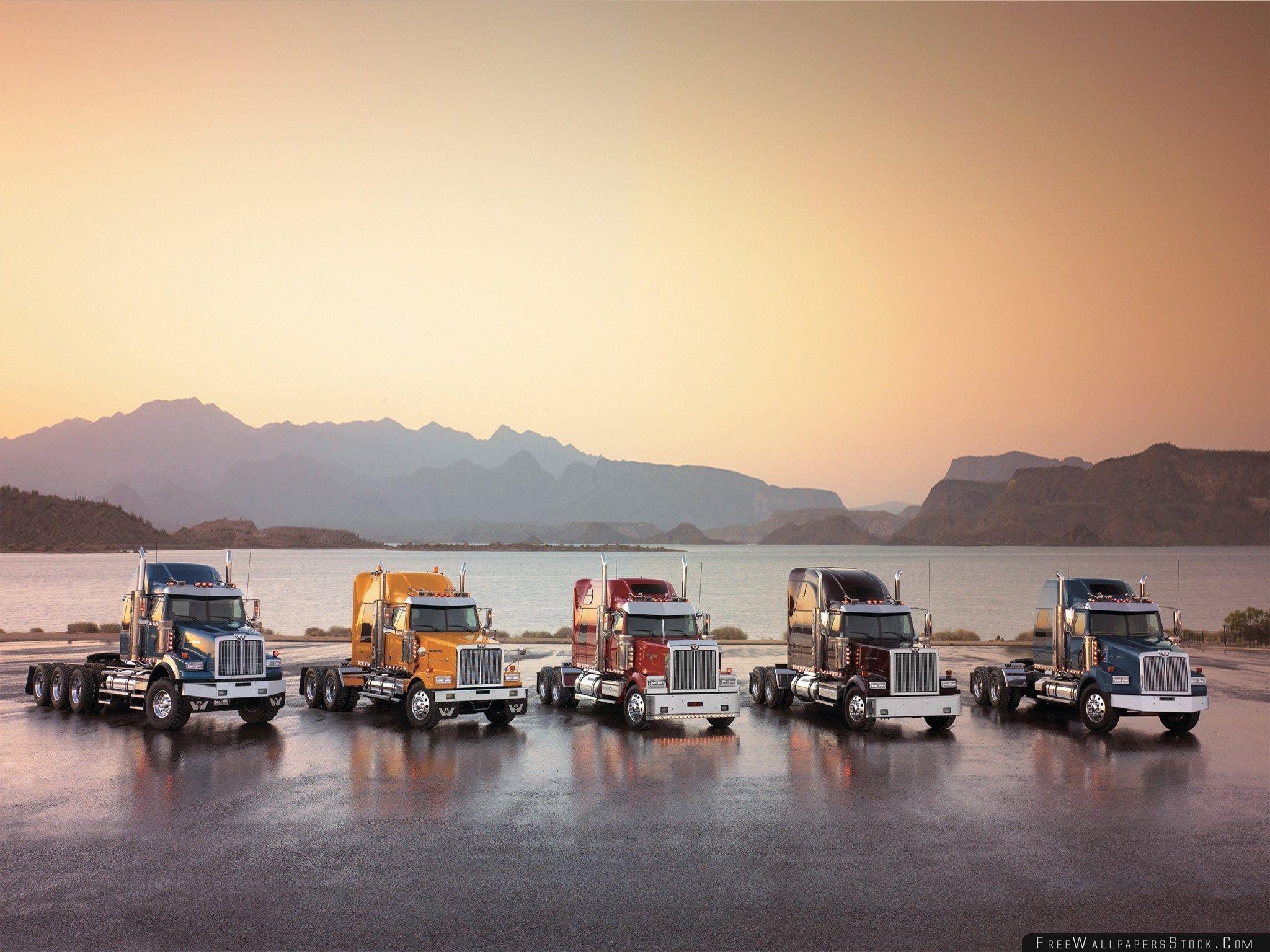 Download Free Wallpaper Western Star Trucks