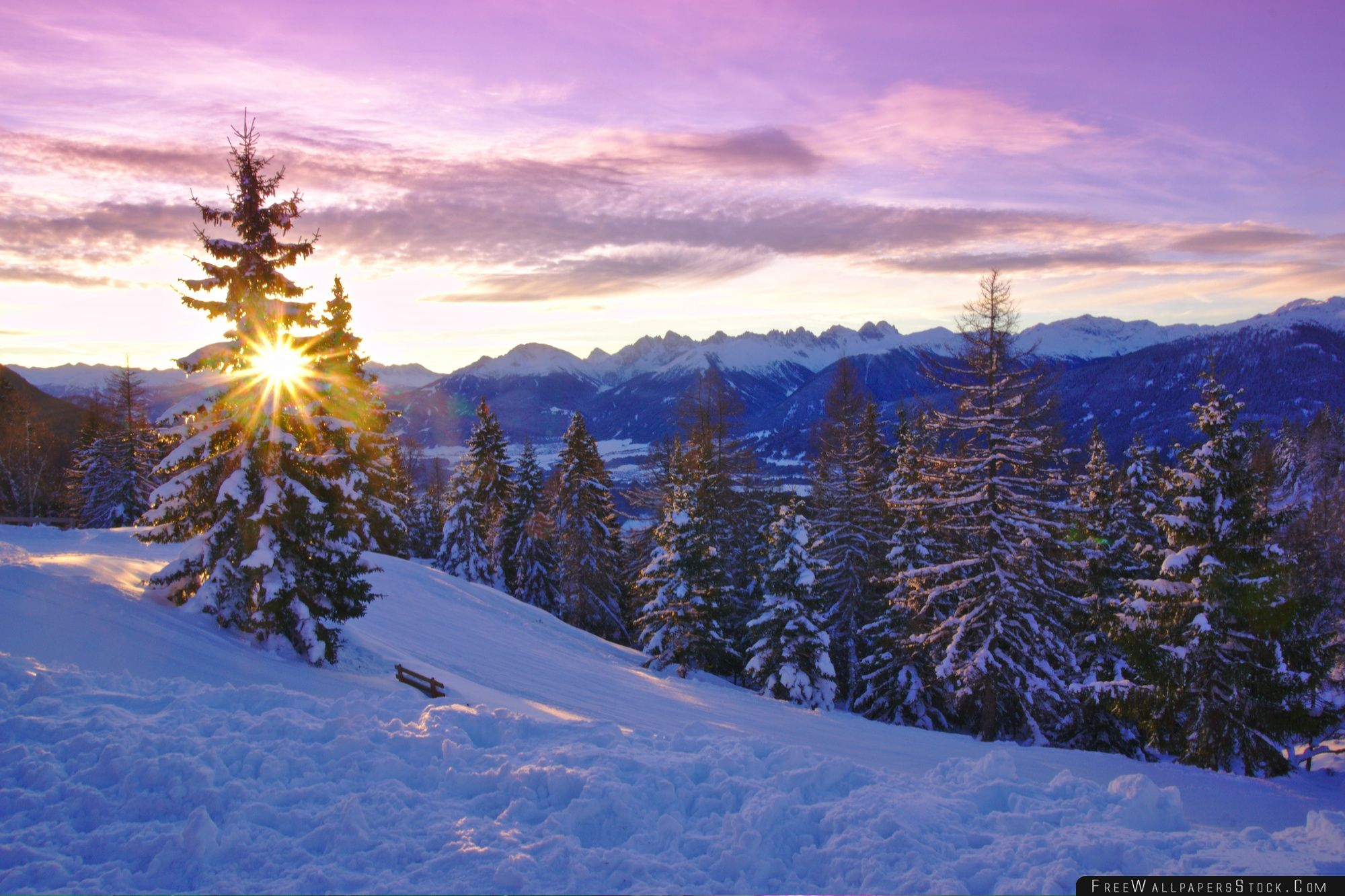 Download Free Wallpaper Winter Time
