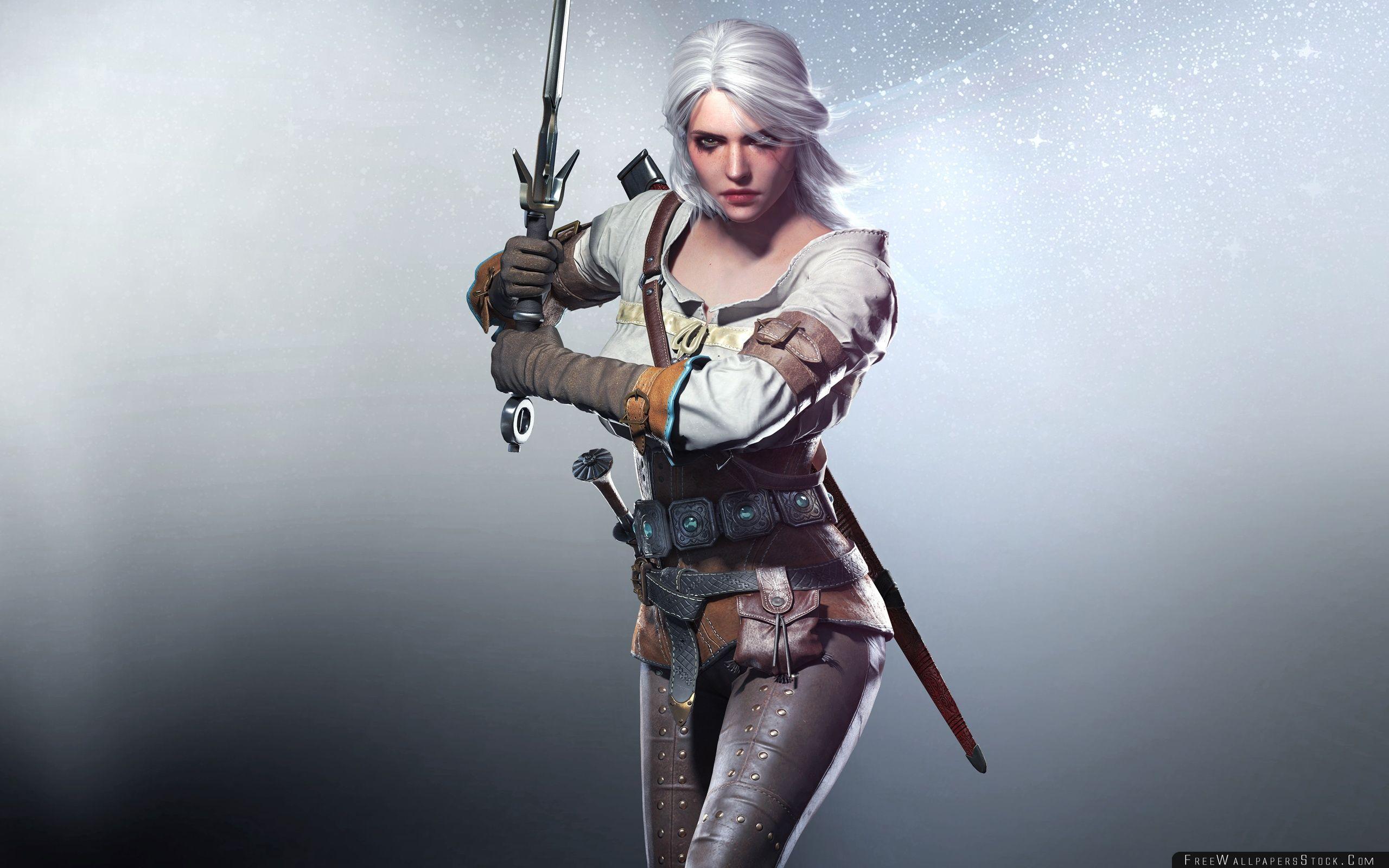Download Free Wallpaper Witcher Wild Hunt Ciri