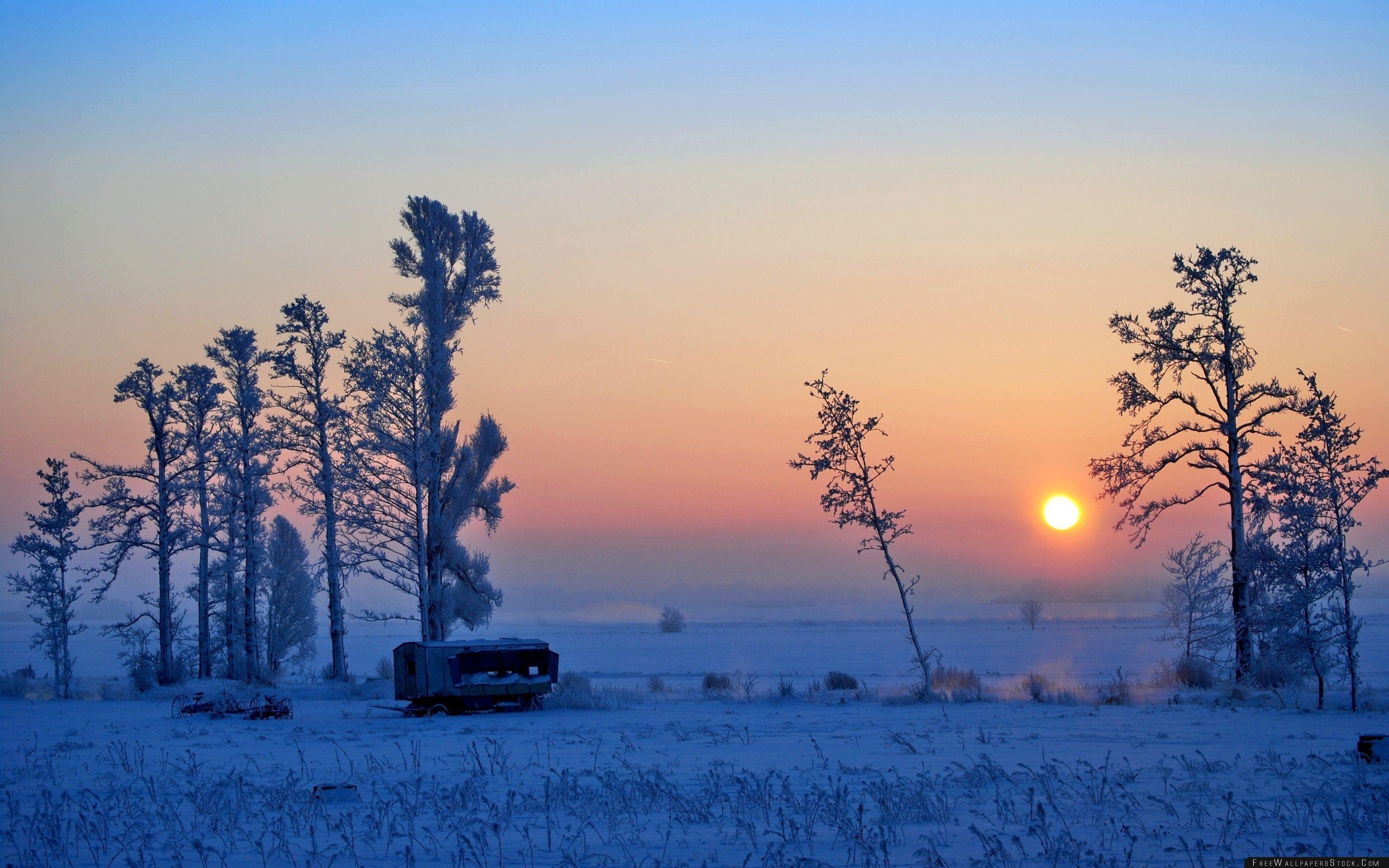 Download Free Wallpaper Wonderful Winter Morning