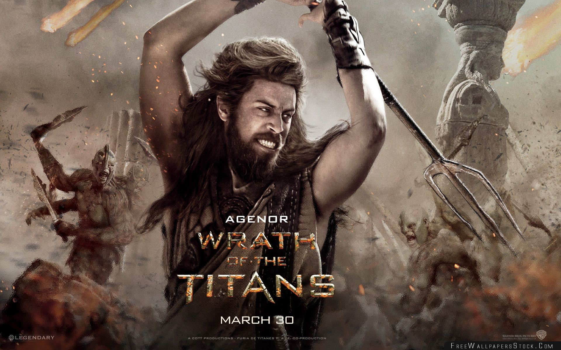 Download Free Wallpaper Wrath   The Titans Agenor