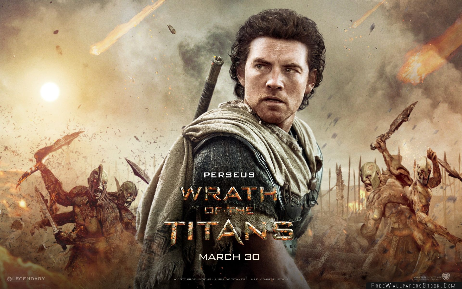 Download Free Wallpaper Wrath   The Titans Perseus