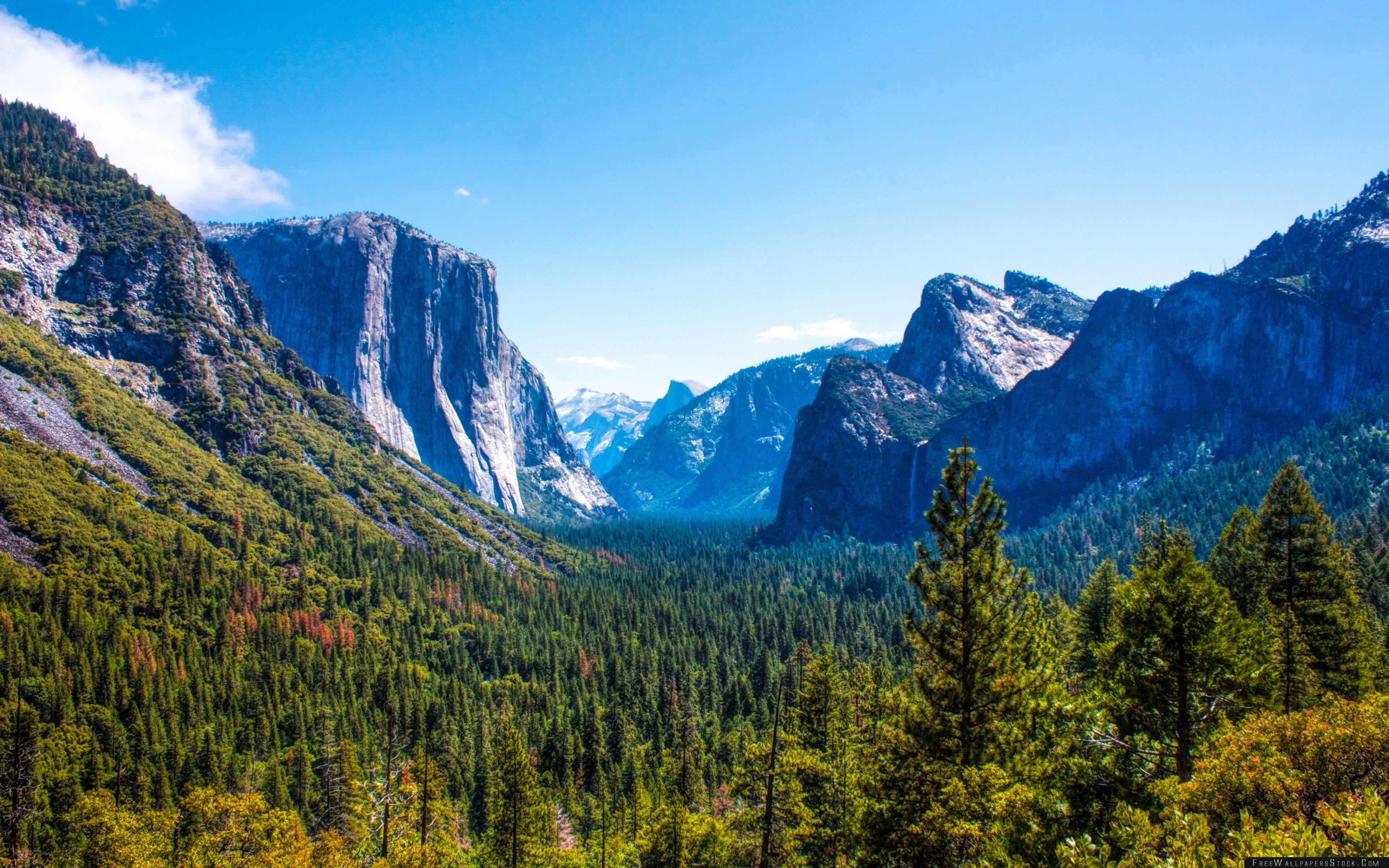 Download Free Wallpaper Yosemite National Park Valley