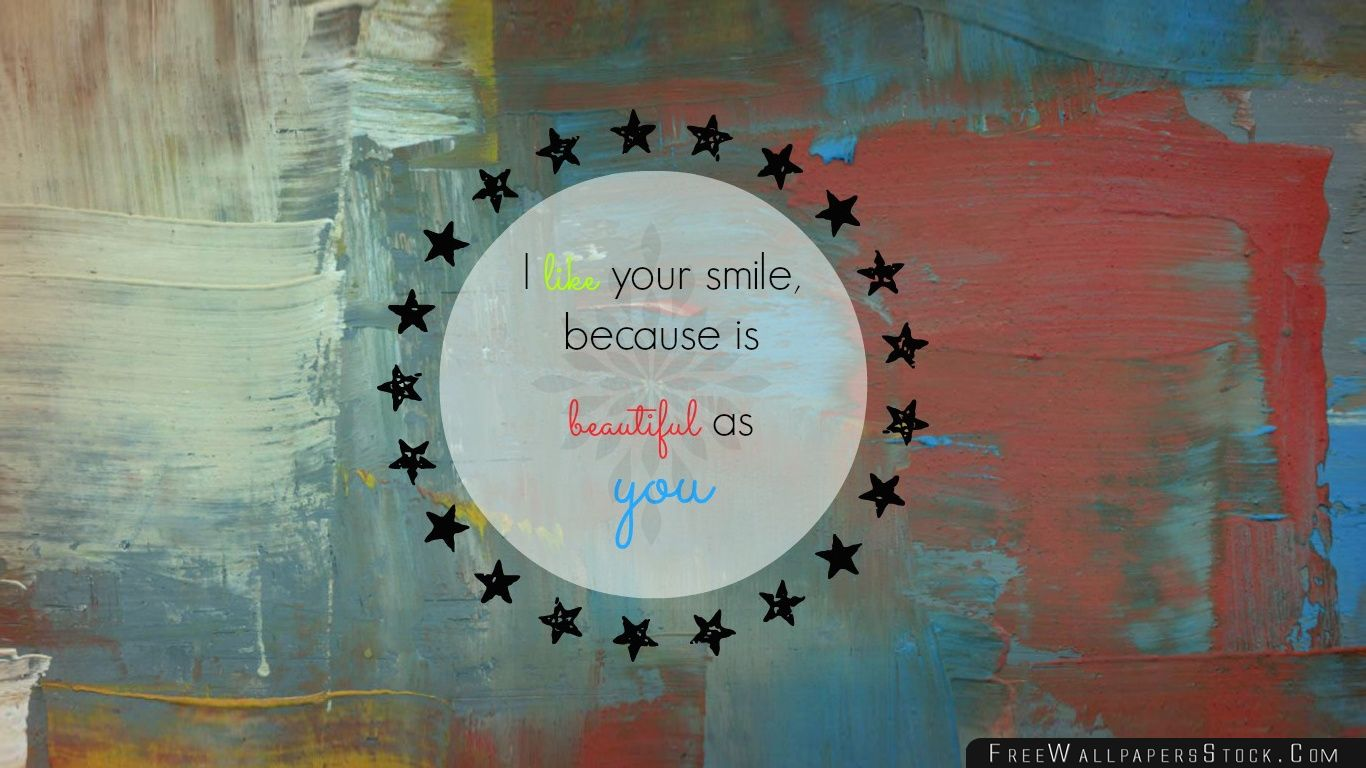 Download Free Wallpaper Your Smile