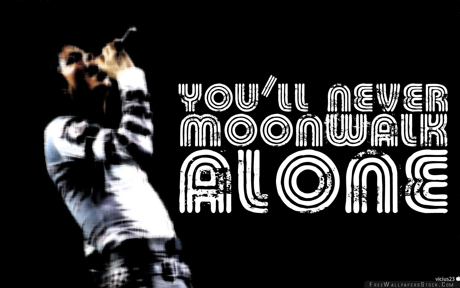 Download Free Wallpaper You Will Never Moonwalk Alone