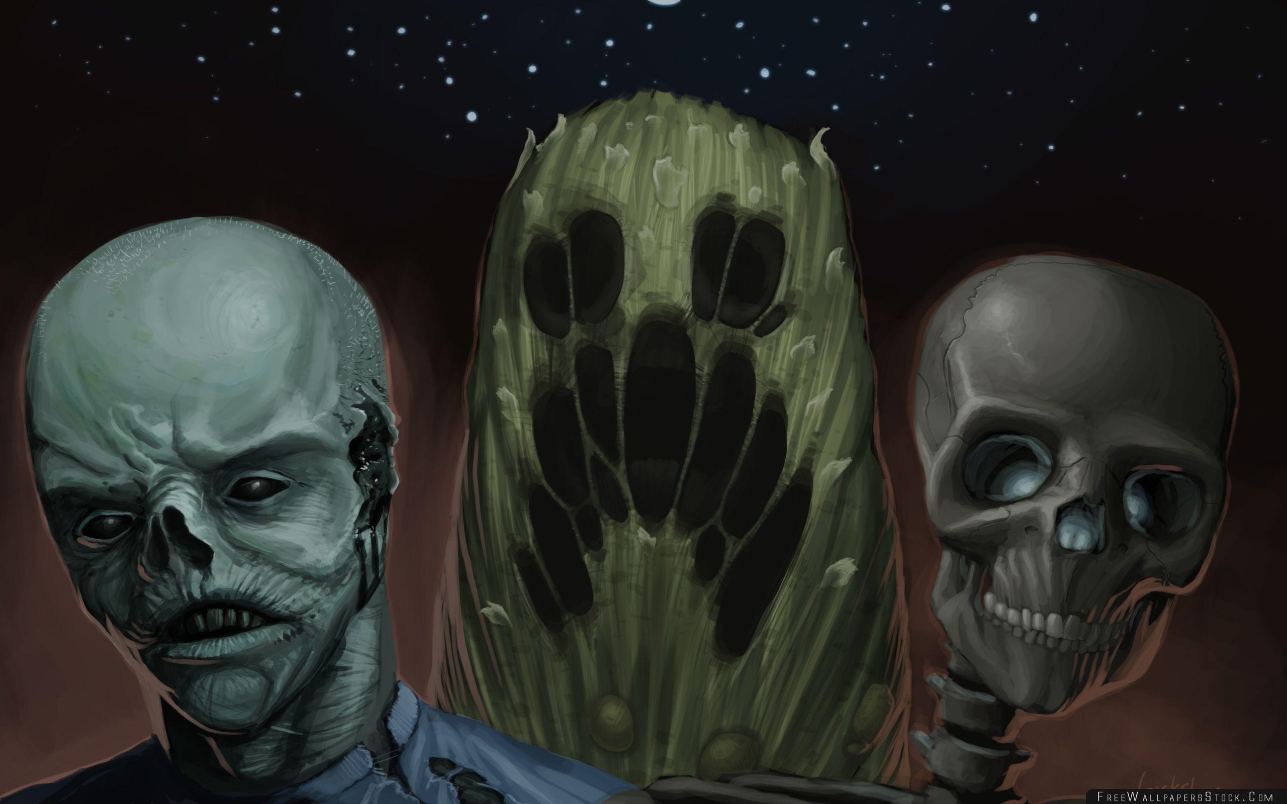 Download Free Wallpaper Zombies Art