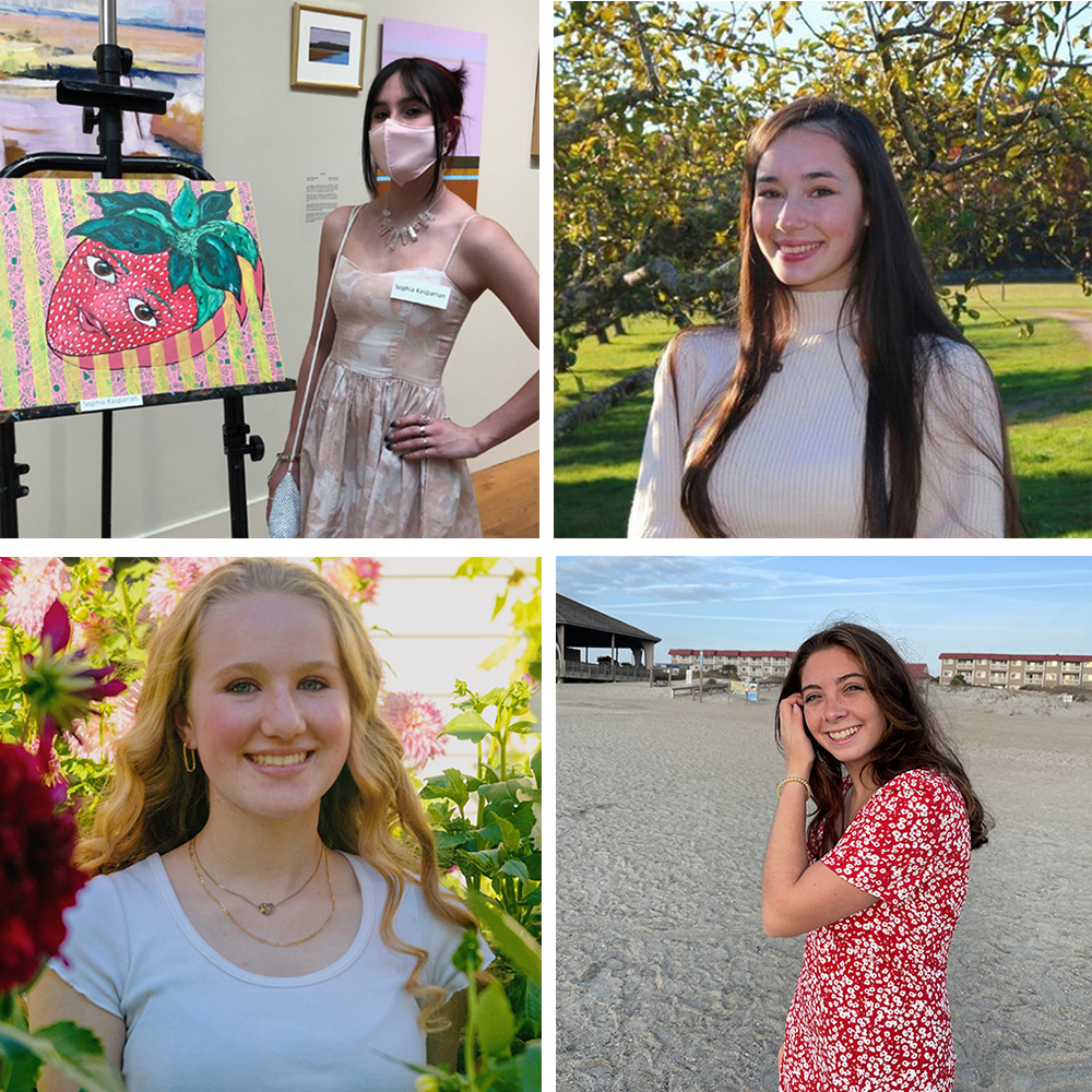 The Pastel Painters Society of Cape Cod awards scholarships to four aspiring artists