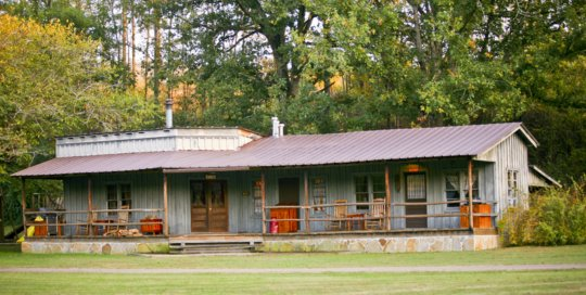 Panther Valley Ranch | porch and cabins
