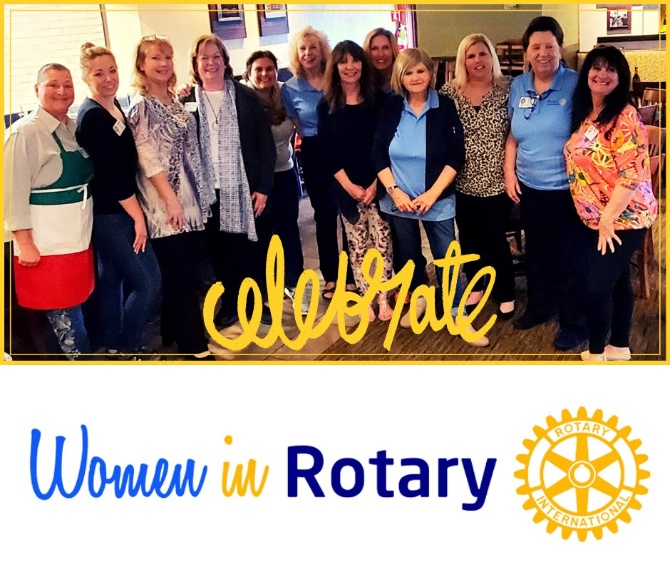 Female members of the North Myrtle Beach Rotary Club