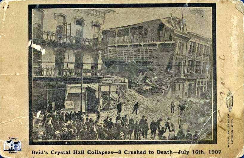 Reid's Crystal Palace Collapses