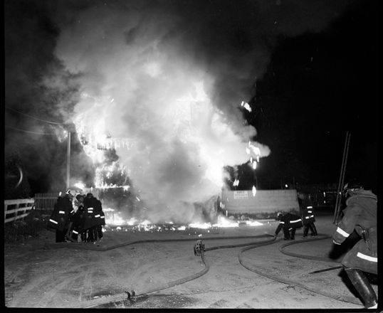 The Barn Restaurant Fire - 1302 Huron Street