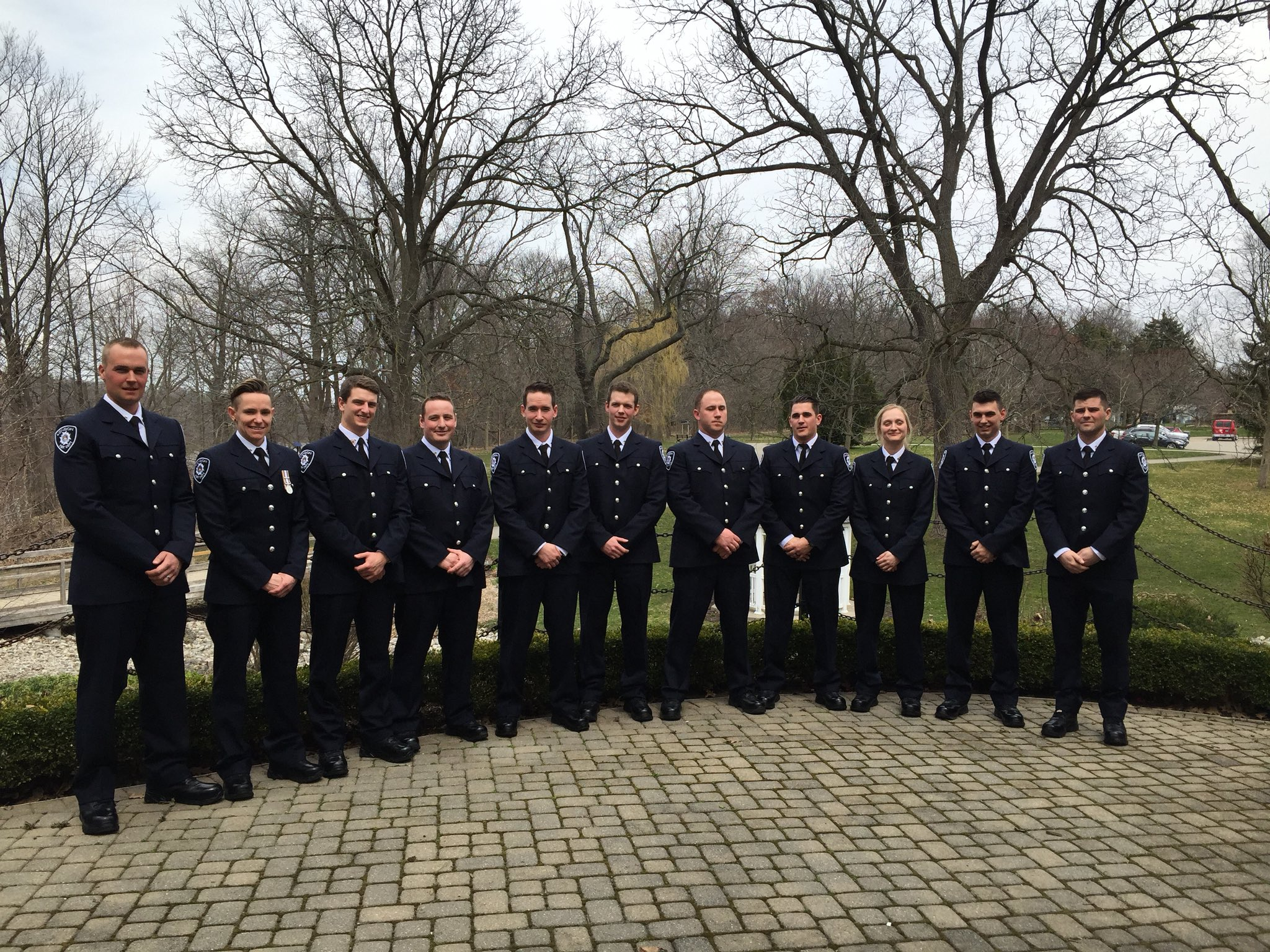 New Recruits posing for photo