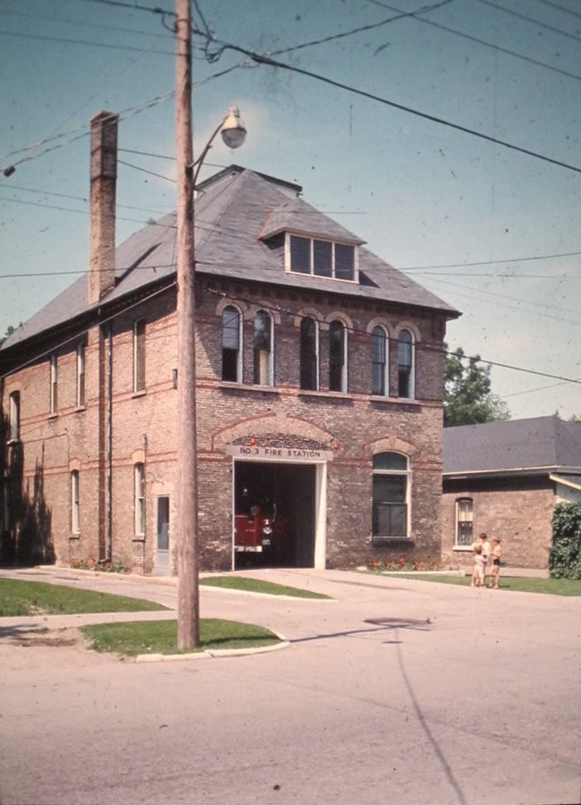 Fire Station 3 on Bruce St, Wortley Village London Ontario.