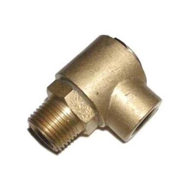 3/8 Swivel 90°, Brass