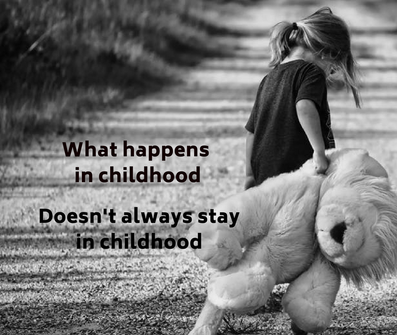 The Lingering Effects of Childhood Trauma