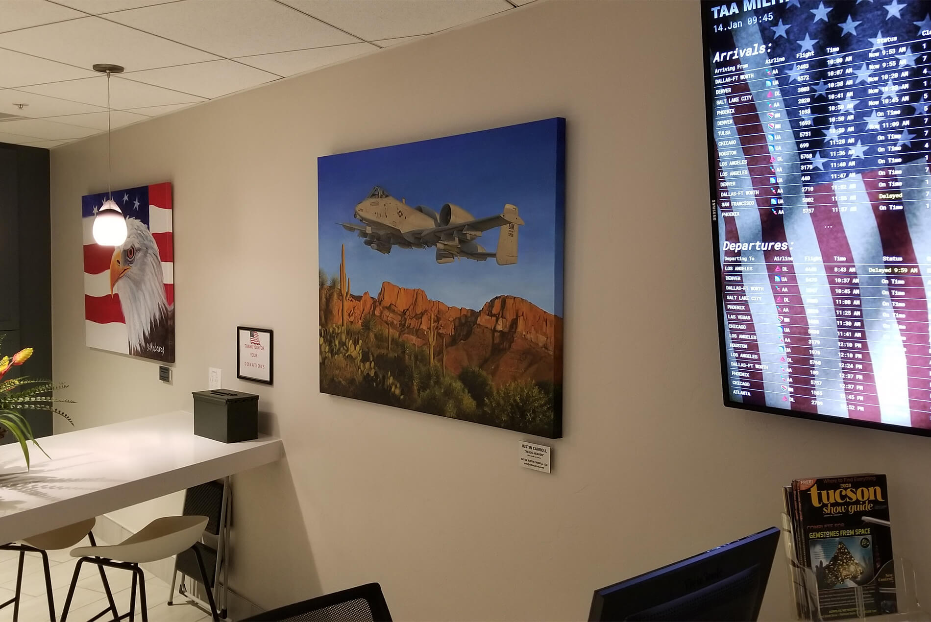 TIA Military Lounge