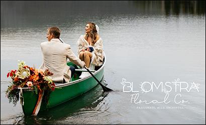 Blomstra Floral Brochure Logo