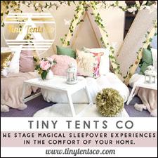 Tiny Tents Co. Graphic Logo