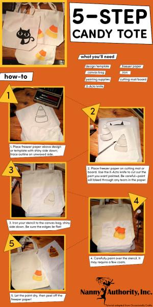 5-Step Candy Tote DIY