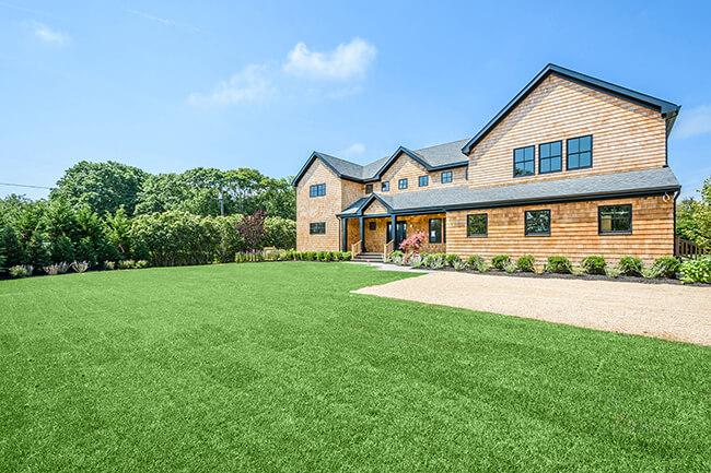 Luxury Hamptons Home Exterior