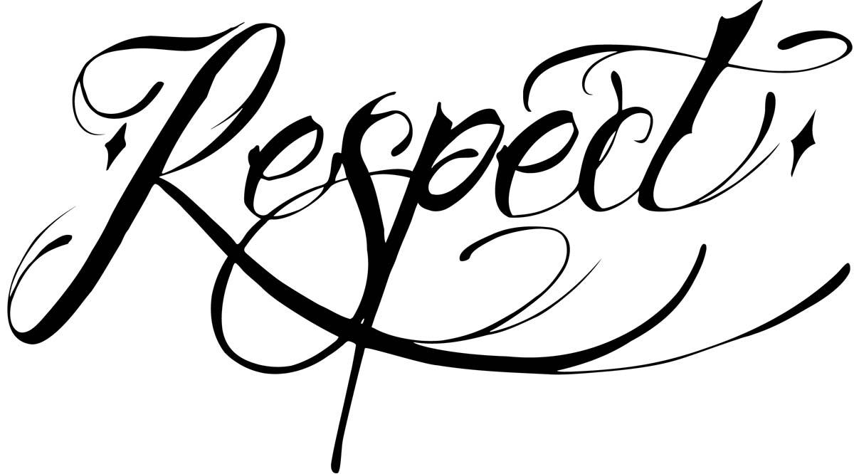 Respect tattoo